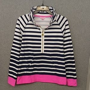 New Lilly Pulitzer French Terry pullover S.
